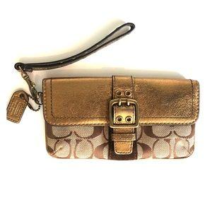 COACH hand wallet/purse